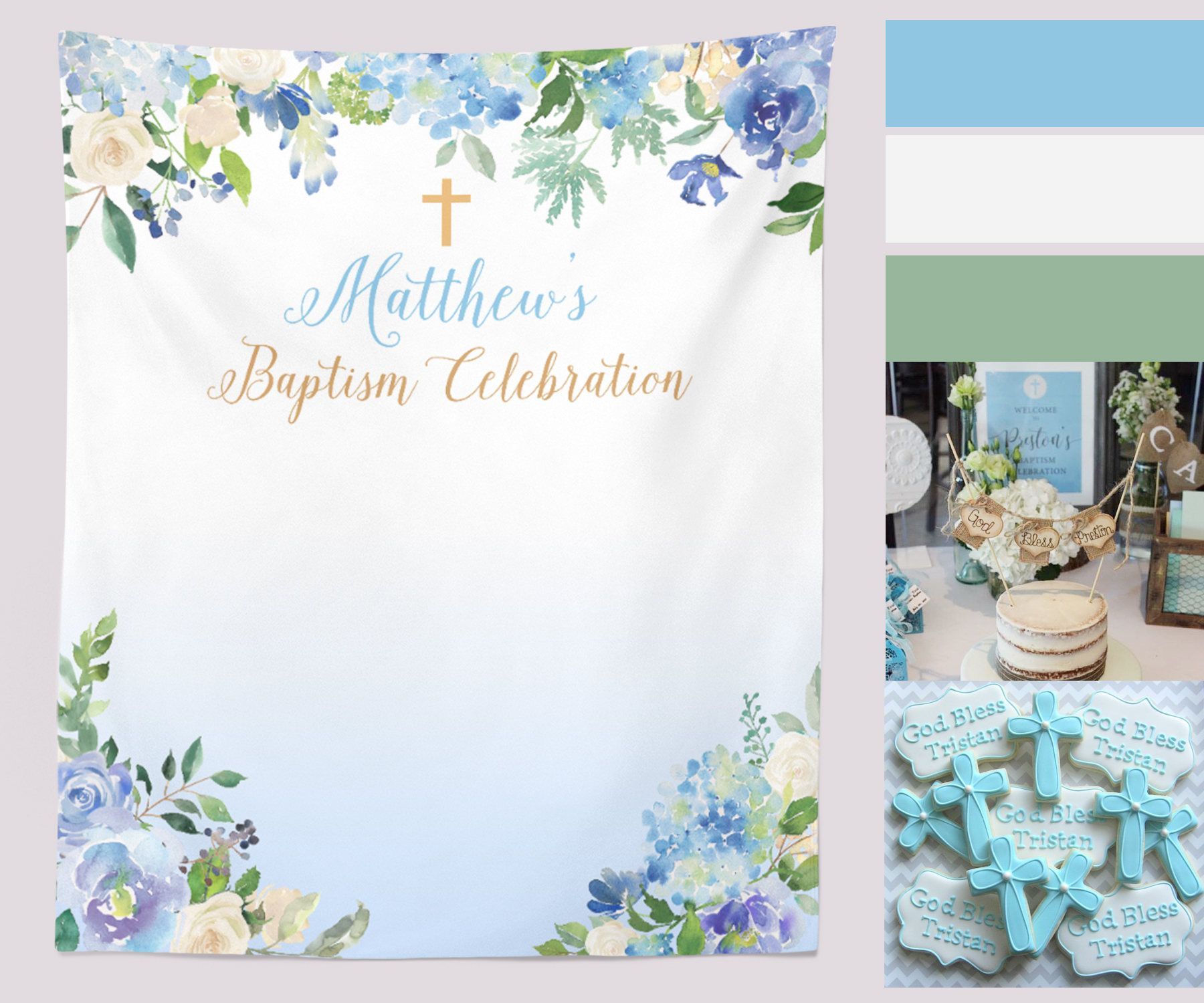 Photo booth ideas for baptism #2