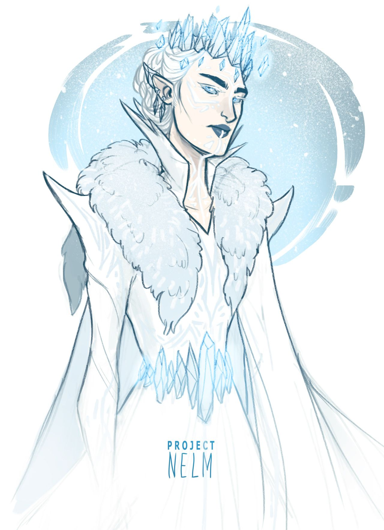 """meabhd: """"projectnelm: """"I was thinking about the Winter Court in acomaf. """" """""""