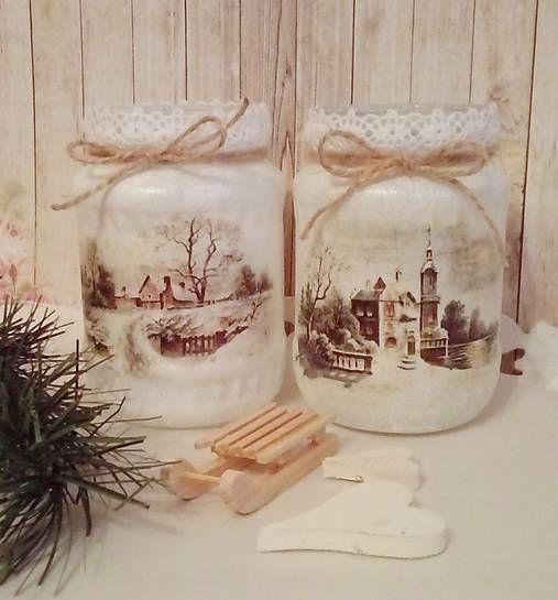 Decorazioni Natalizie Riciclando Barattoli di Vetro. 21 idee strepitose! #weihnachtsdekoimglasmitkugeln