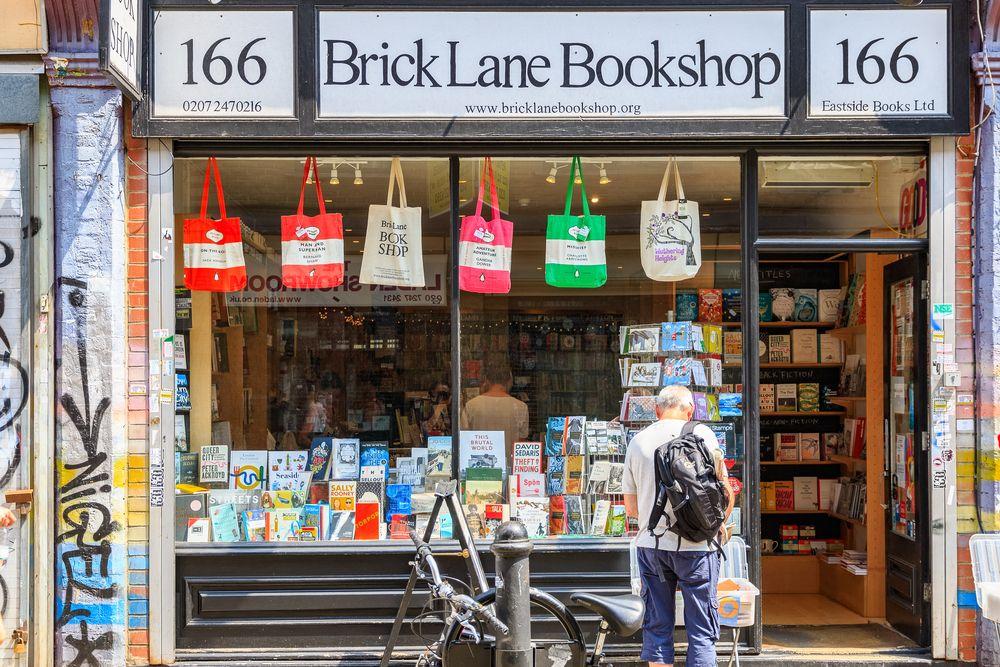 Brick lane bookshops, an independent retailer in Shoreditch