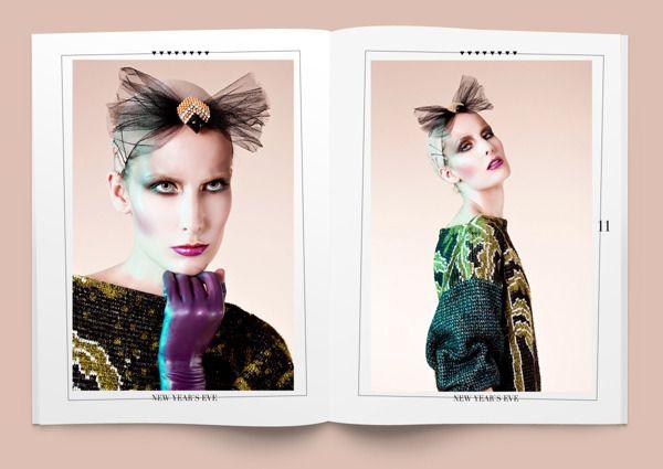 NEW YEARS EVE by Justine Szczepanczyk, via Behance