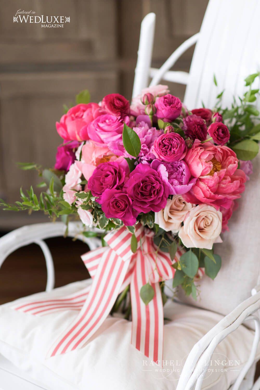coral-pink-bridal-bouquet-rachel-a-clingen | Wedding Bliss LUXE ...
