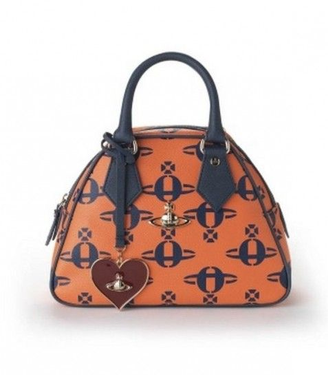 Handbag Con Logo Globo Vivienne