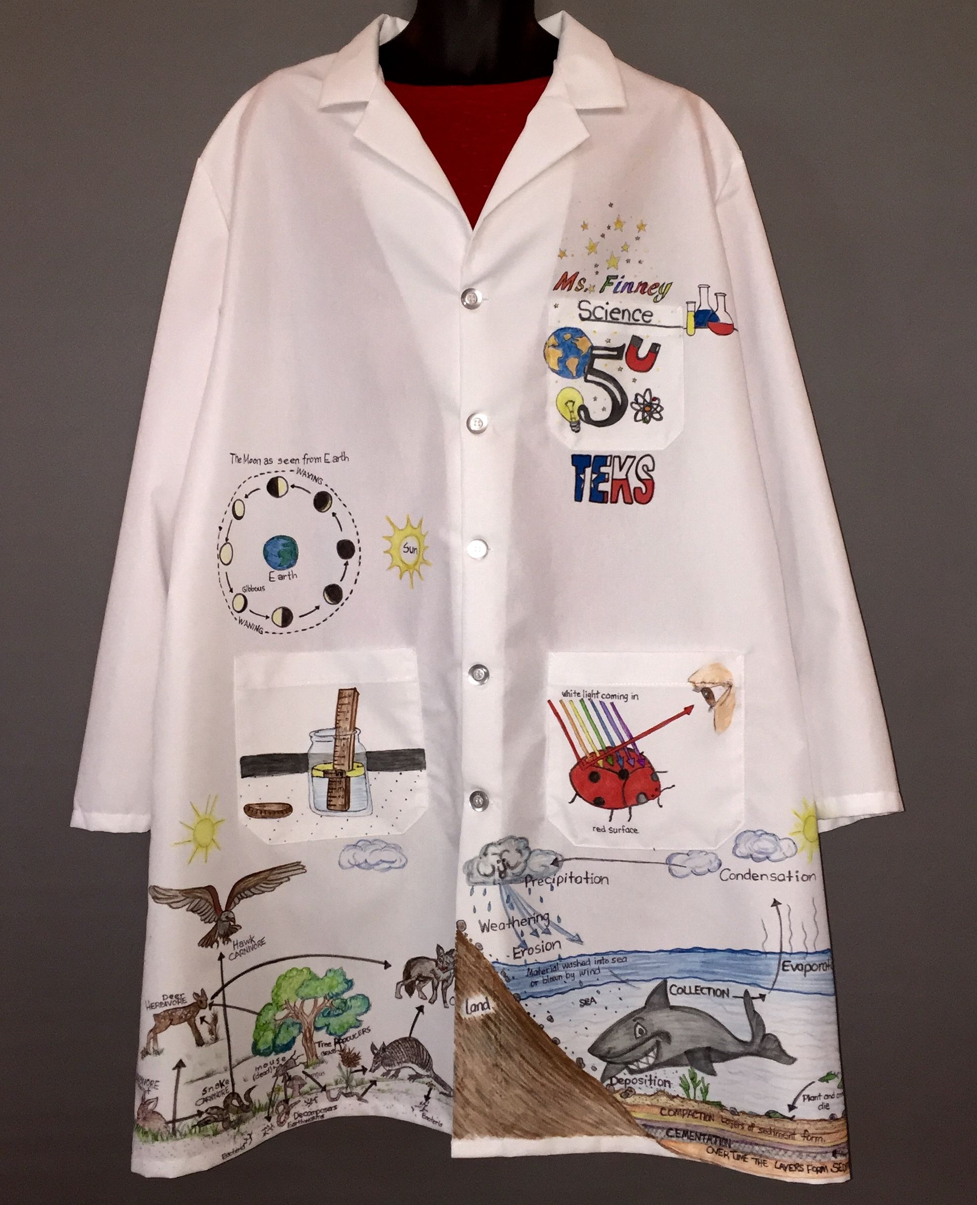 Personalized Illustrated Lab Coats By Request Info