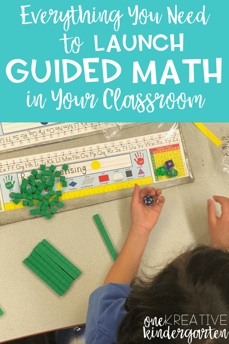 Have you wanted to start guided math in your classroom but don't know where to start? Check out this post for everything you need to know when launching guided math.