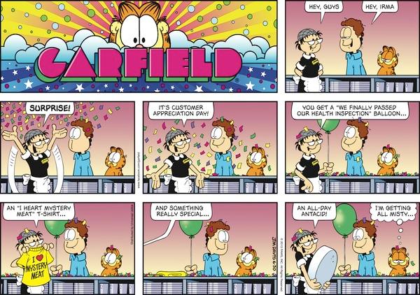I Love Irma Garfield Comics Garfield Garfield Cartoon