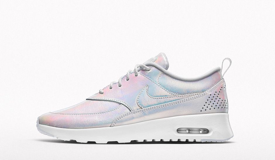 nike air max thea synthetic grey pink white bedroom