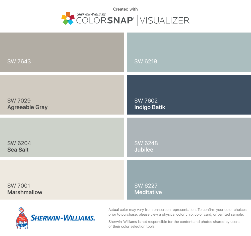sherwin williams agreeable gray vs sea salt - Google Search #sherwinwilliamsagreeablegray sherwin williams agreeable gray vs sea salt - Google Search #sherwinwilliamsagreeablegray