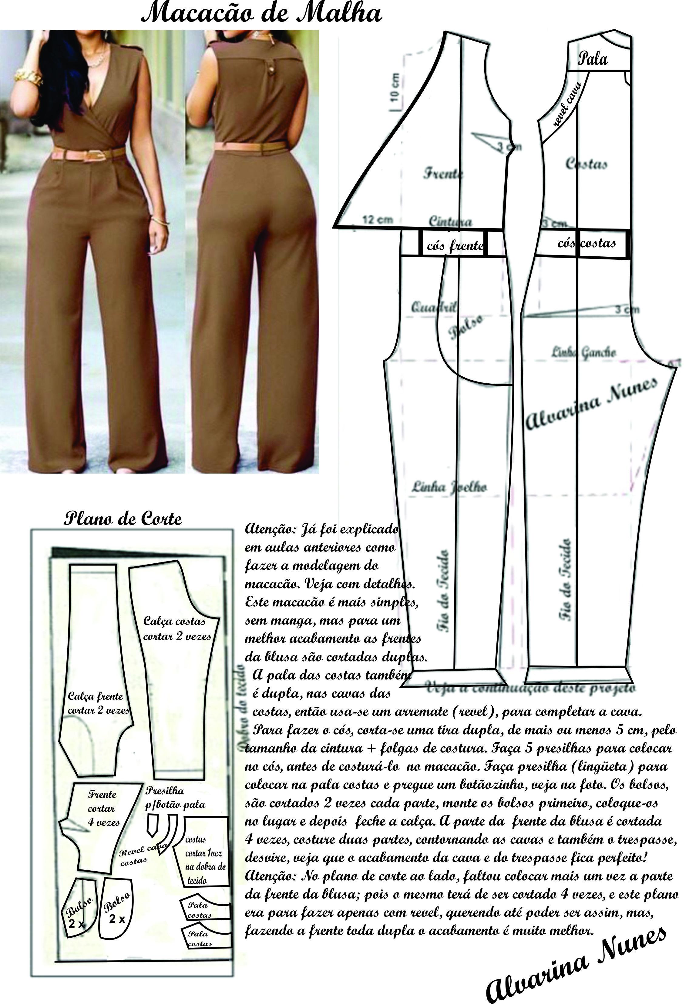 Pin de madeca rojas en Patrones y costuras | Pinterest | Costura ...