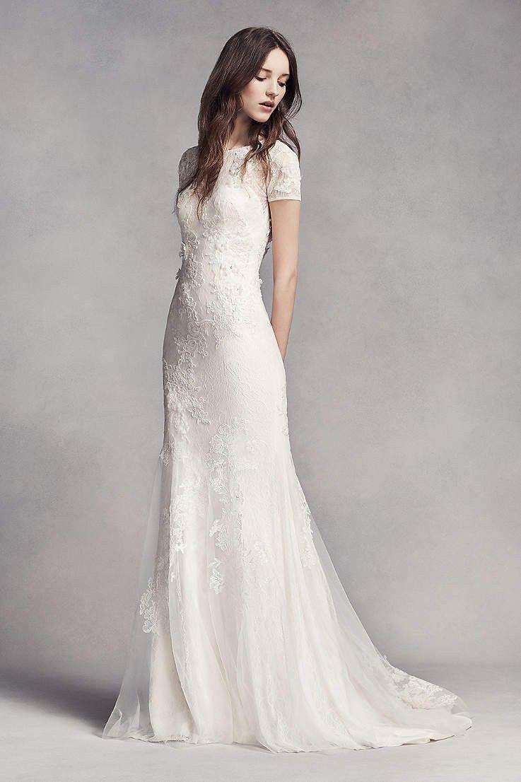 Unique Modest Wedding Dress