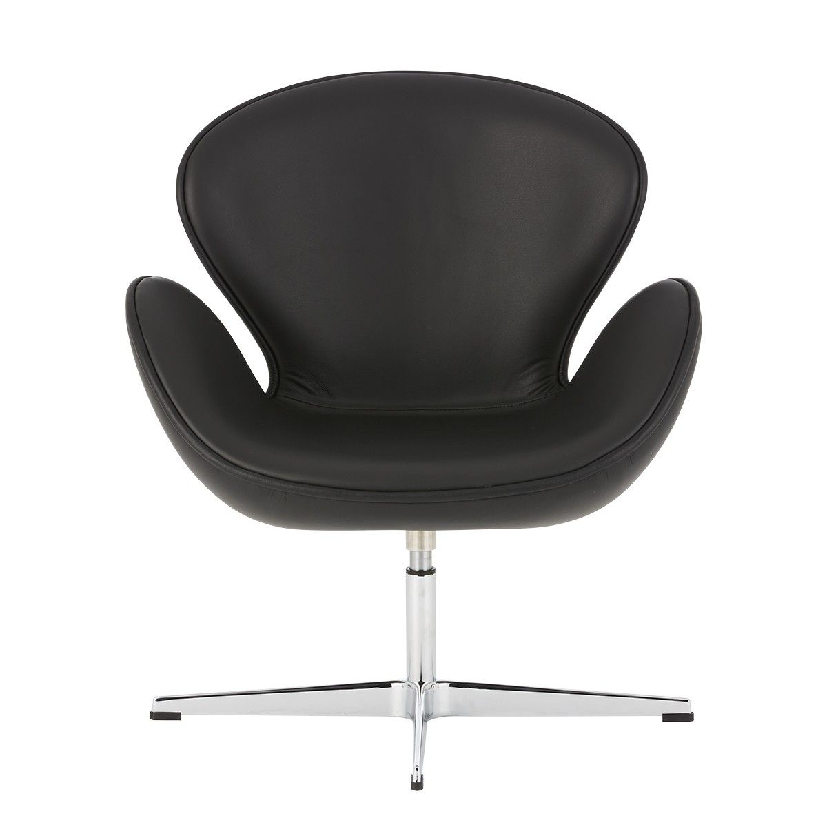 Gispen Zinn Bureaustoel.Swan Chair Replica Arne Jacobsen Italian Leather Lounge Chairs