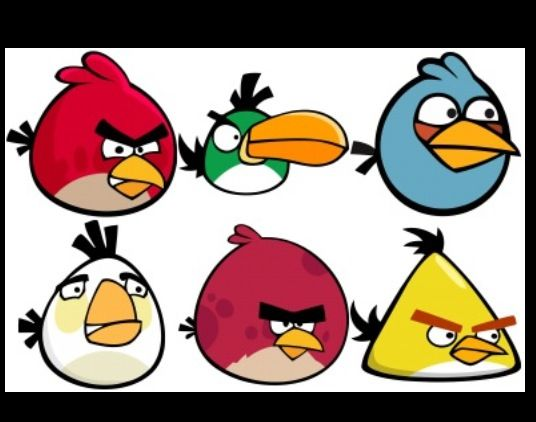 Images Of Angry Birds Characters: Angry Bird Image For Cookies