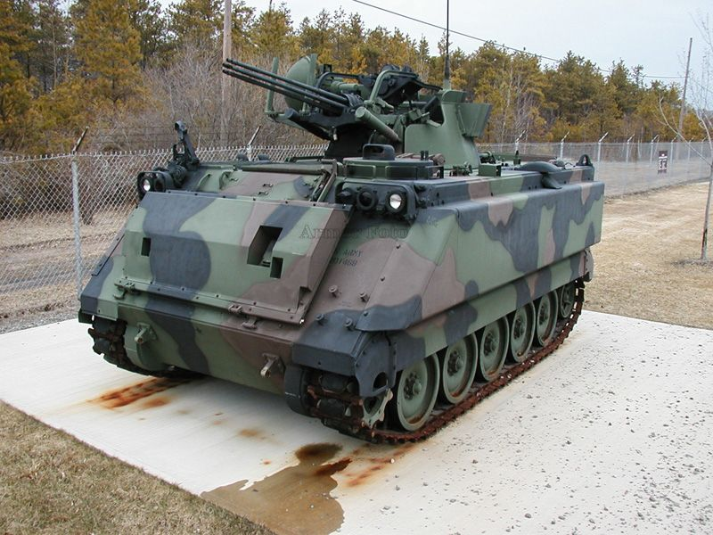 M163 Vulcan Tracked Vehicles Military Vehicles Armored