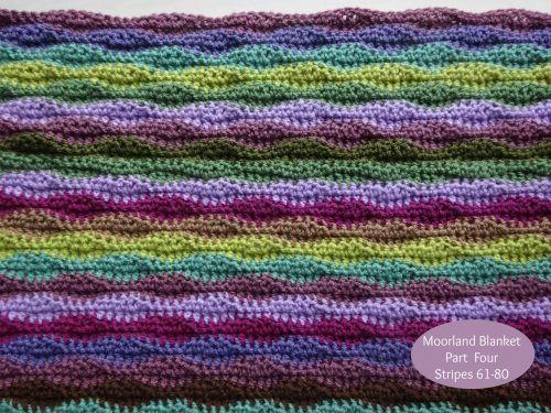 Moorland Blanket Cal Part 4 Crochet Projects Crochet Crochet Patterns