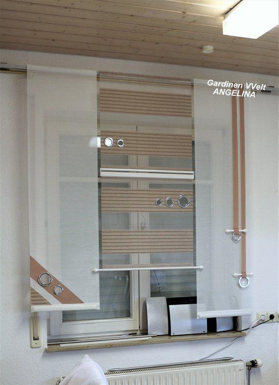 Moderne Schiebegardinen In 2020 Gardinen Modern Gardinen Wohnzimmer Modern Und Bad Gardinen