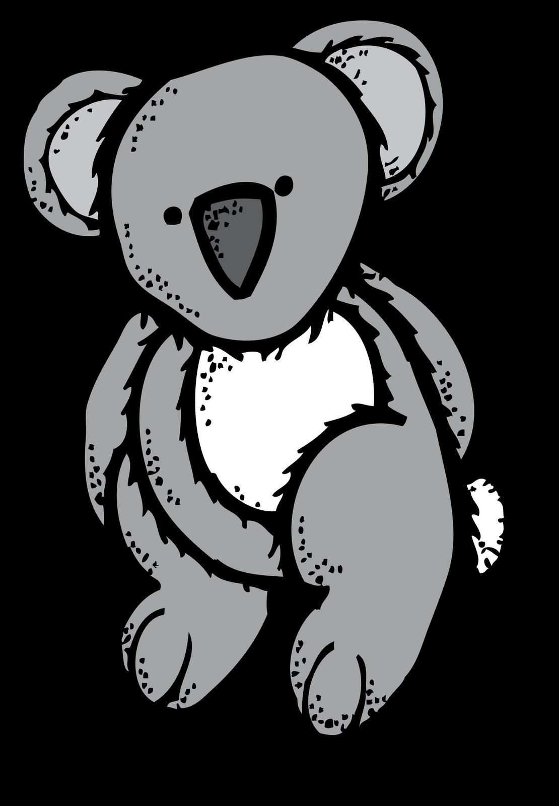 melonheadz koala bear [ 1110 x 1600 Pixel ]