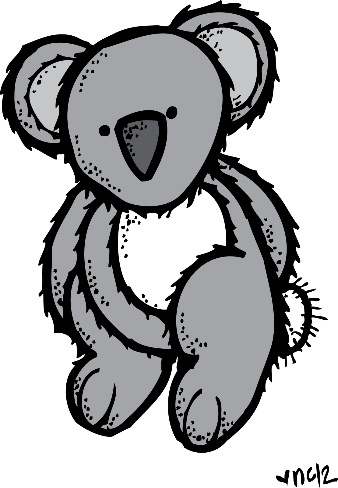 hight resolution of melonheadz koala bear