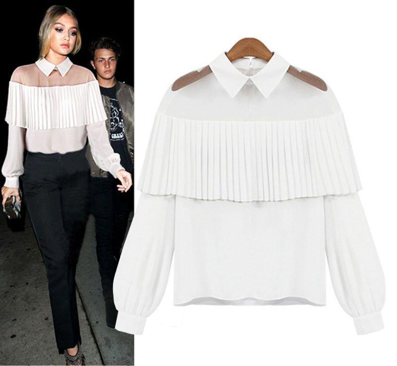 4355e02d2ceb5d New Fashion Women Loose Long Sleeve Tops Blouse Shirt Casual Cotton T-Shirt