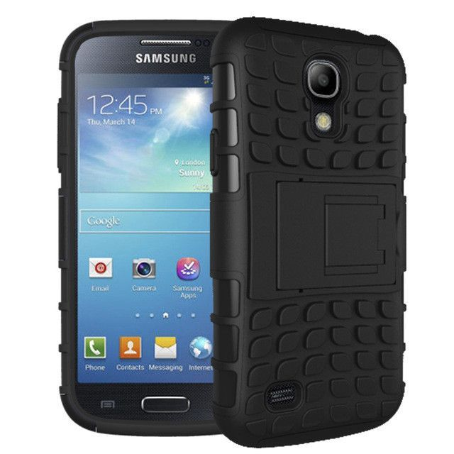 For Samsung Galaxy S4 Case Heavy Duty Armor Shockproof Hybrid Hard Rugged Rubber Phone Cover