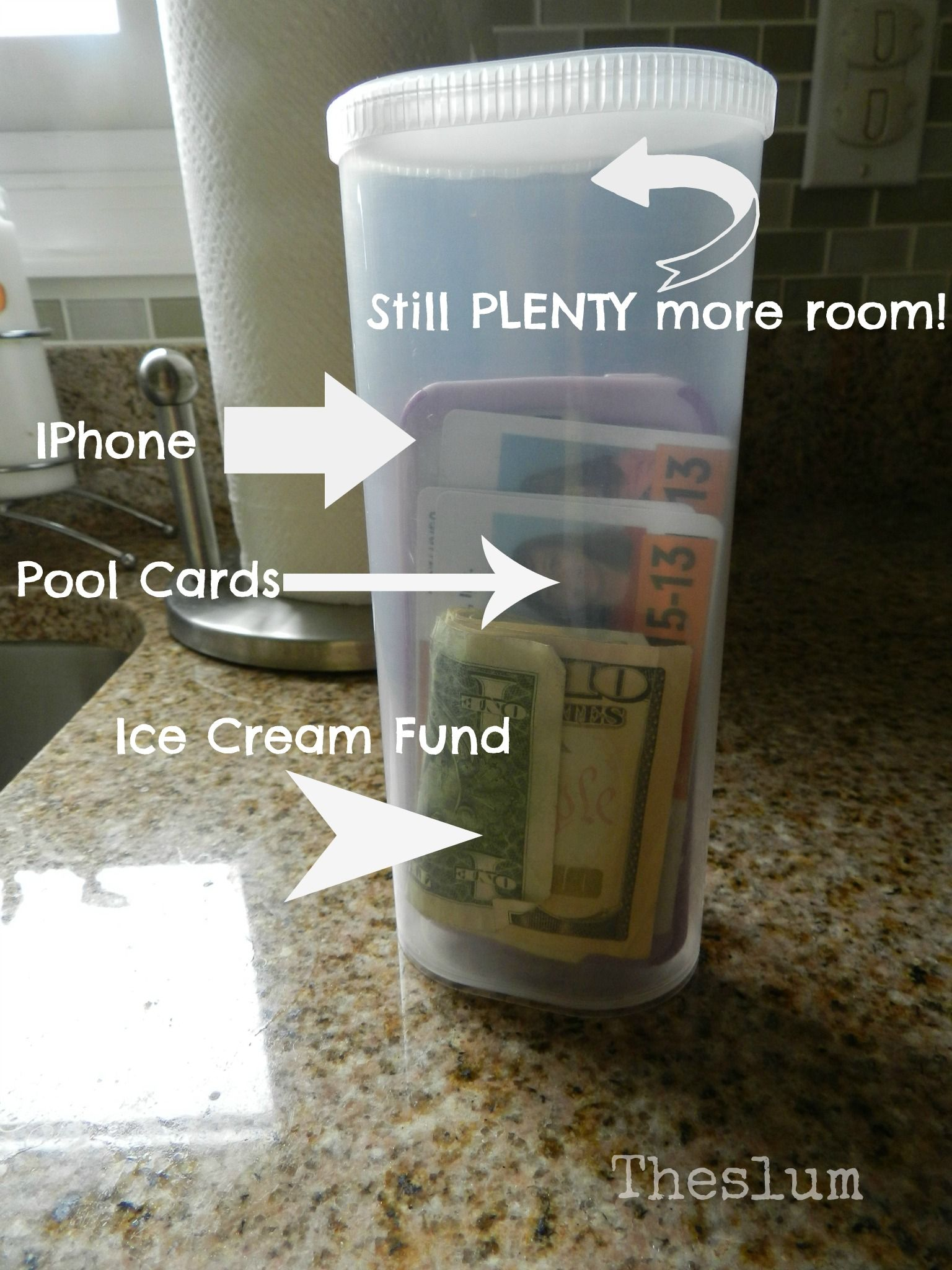 Cash Pool Celle Crystal Light Container For The Pool Beach I Have Some Of