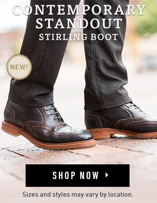 7d2ec2f413d Allen Edmonds New! Stirling Boot. | Style | Allen edmonds, Boots ...
