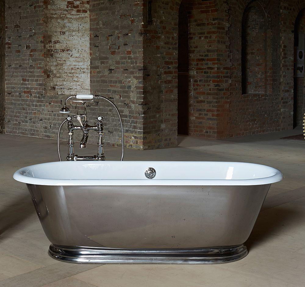 The Tamar Small Skirted Cast Iron Bath | Pinterest | Bath, Iron and ...