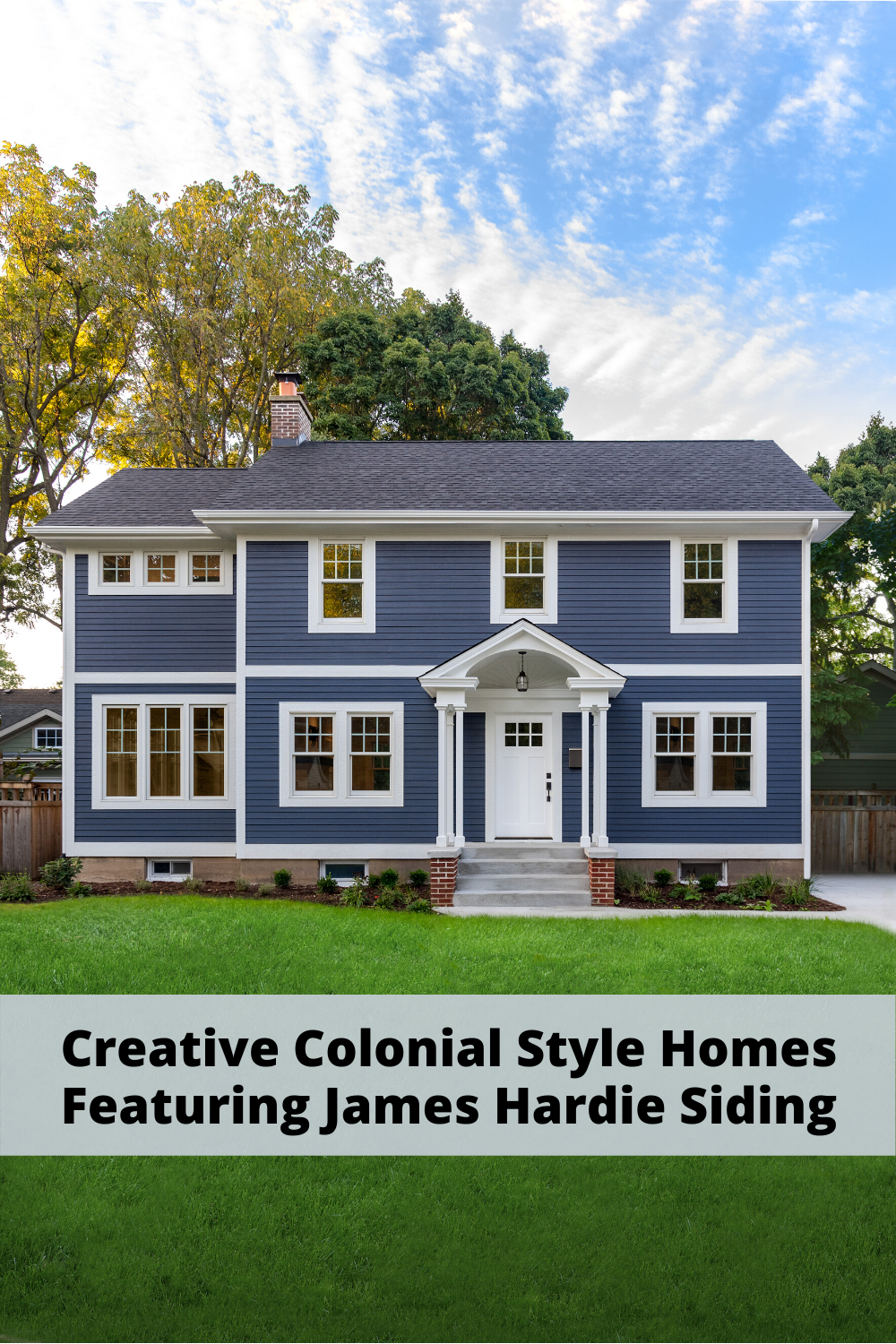 How To Put A Creative Touch On The Colonial Style House In 2020