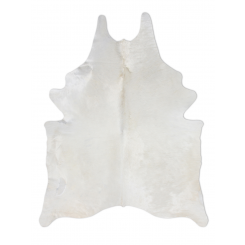 Natural Ivory Cowhide By Pure Rugs White Cowhide Rug