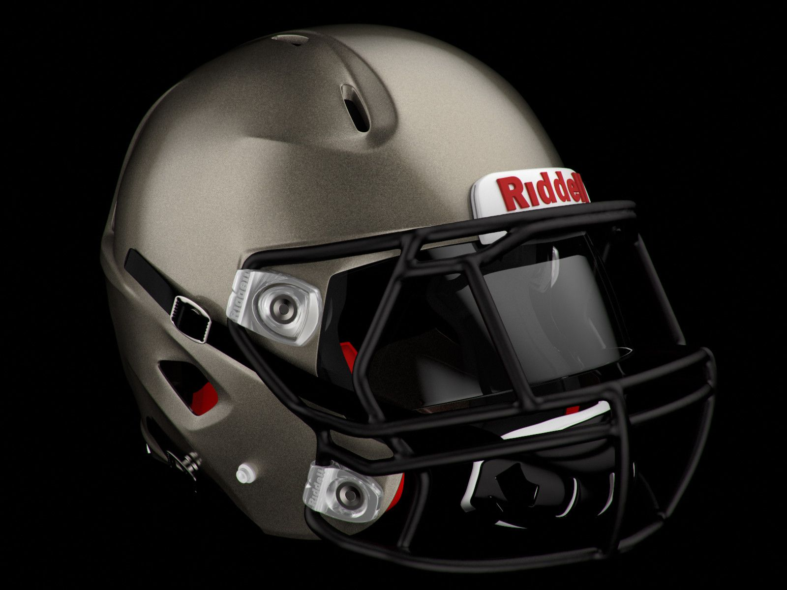 5ea002af2a6 3D Riddell 360 Football Helmet - 3D Model