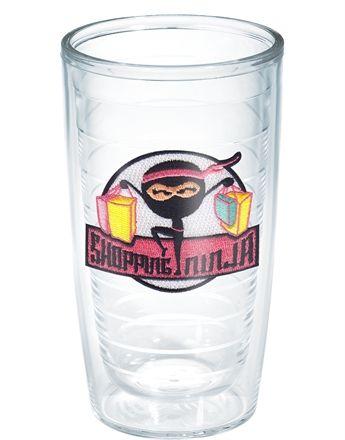 528c0b8b0c2 Shopping Ninja - 16oz tumbler   Addicted to Tervis   Tumbler, Tervis ...