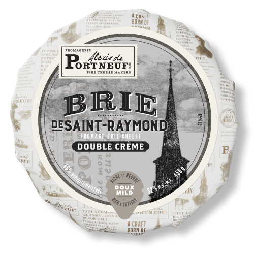 Brie De Saint Raymond Packaging Labels Design Creative Packaging Design Cheese Design