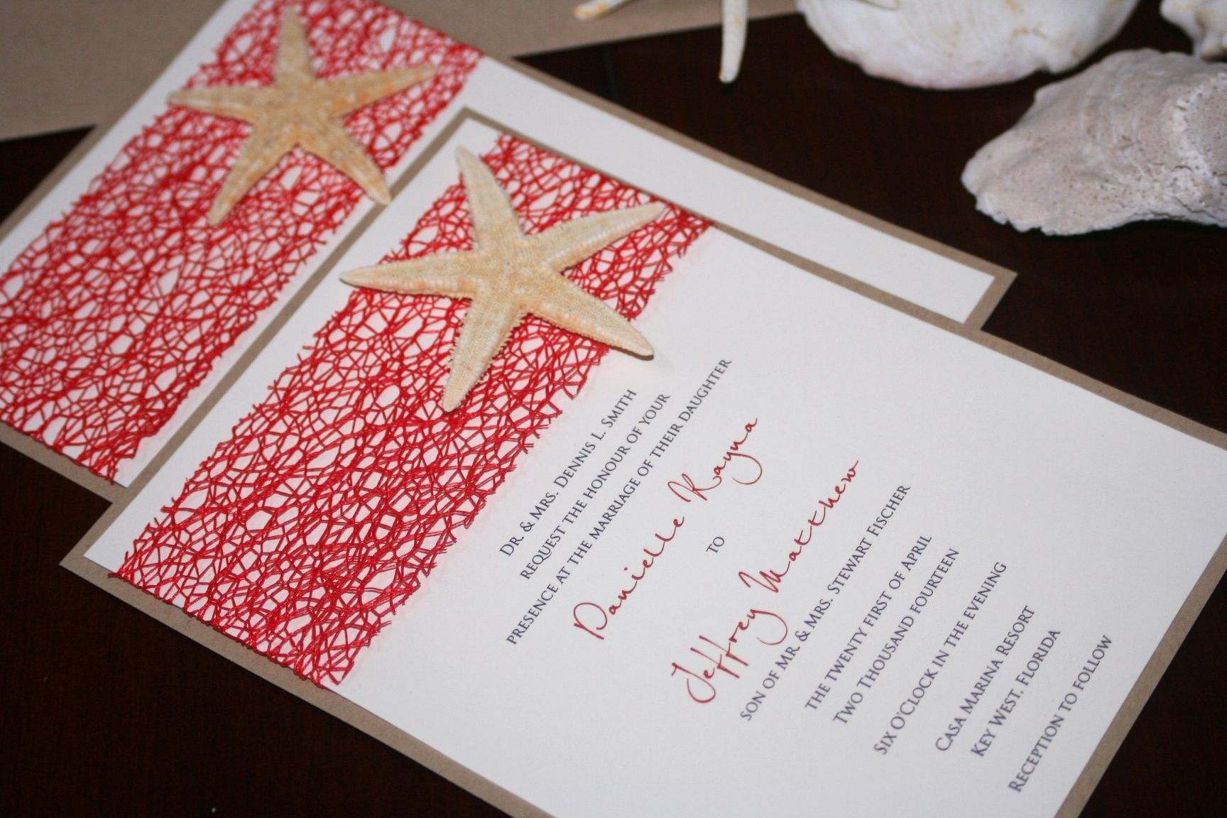 cheap beach wedding invitation kits | wedding invitations ...