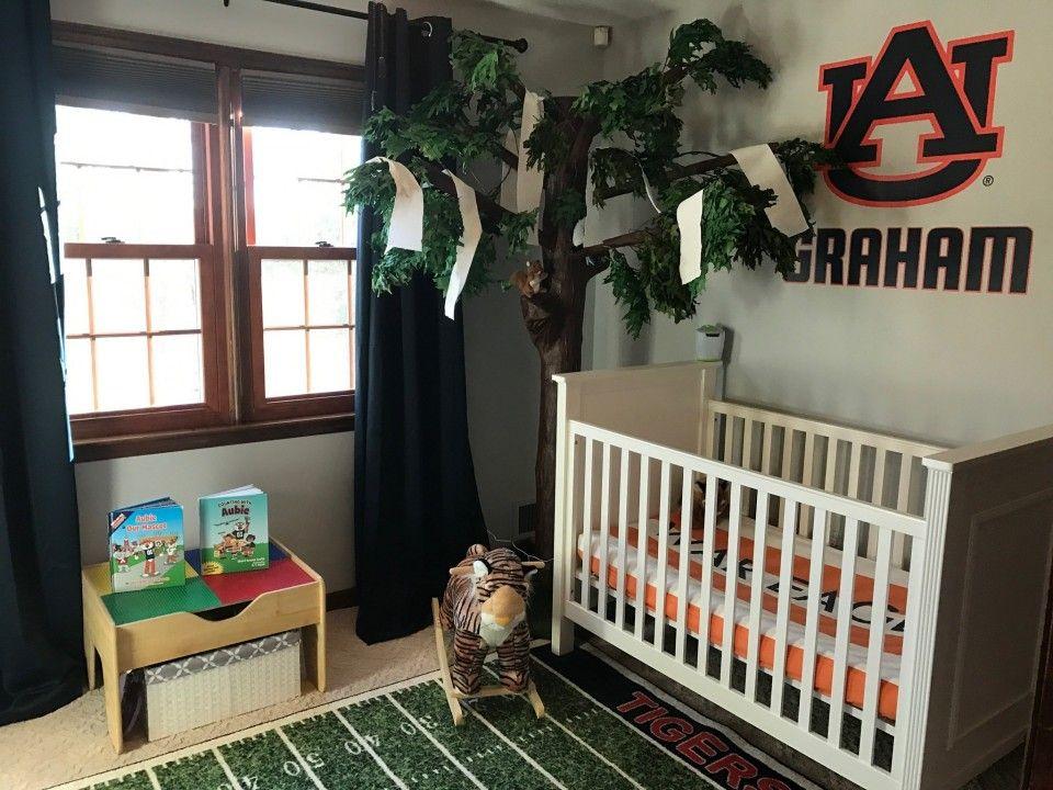 Auburn Nursery Room Boy Baby