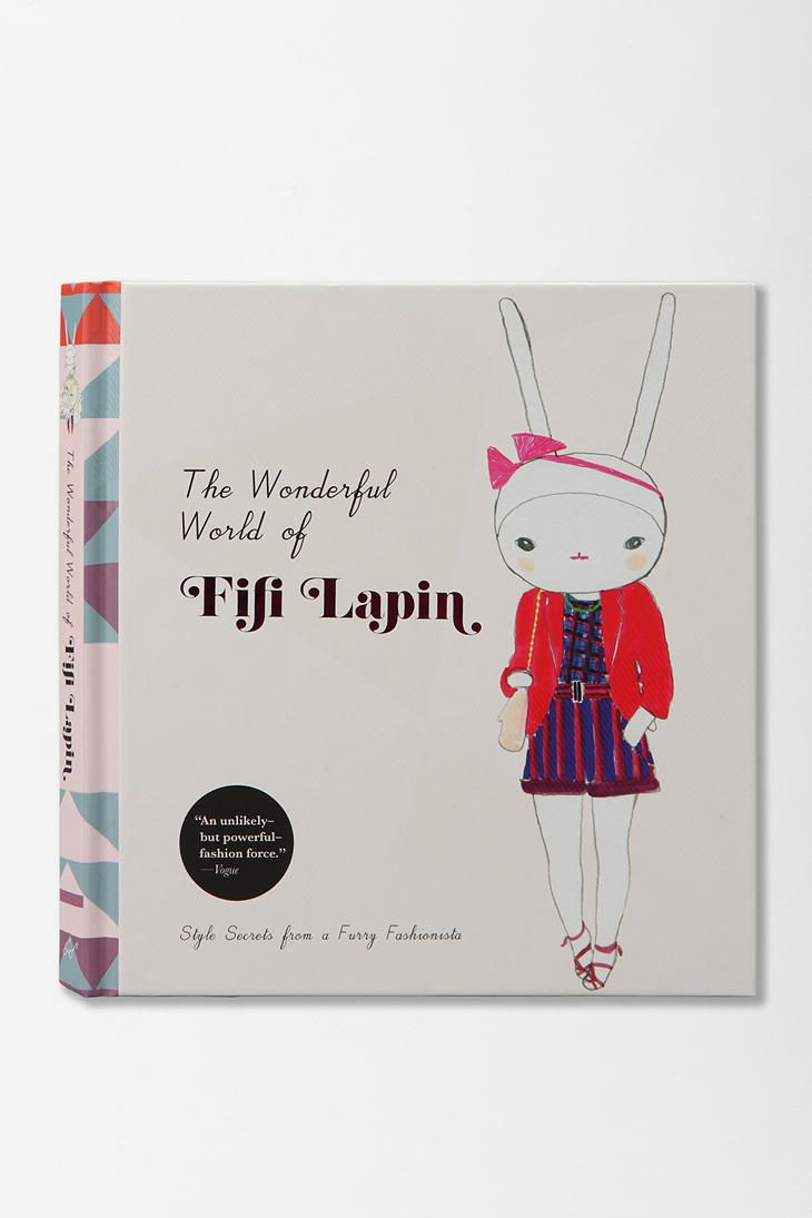 The Wonderful World Of Fifi Lapin By Fifi Lapin Fifi Lapin Book Design Beautiful Book Covers