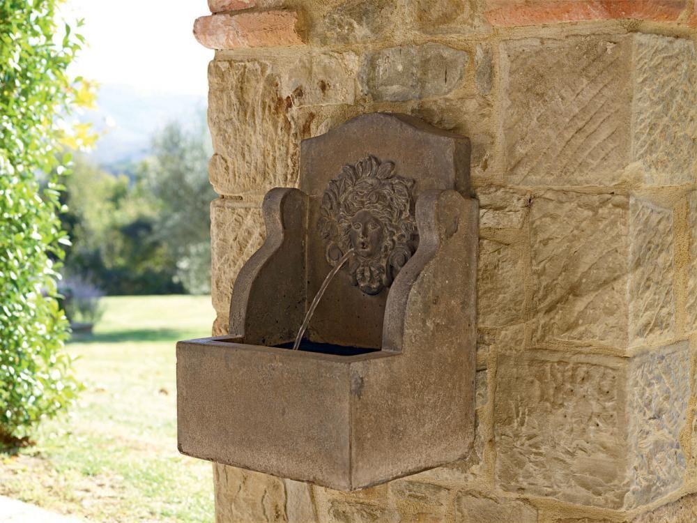 Dekorative Wandbrunnen