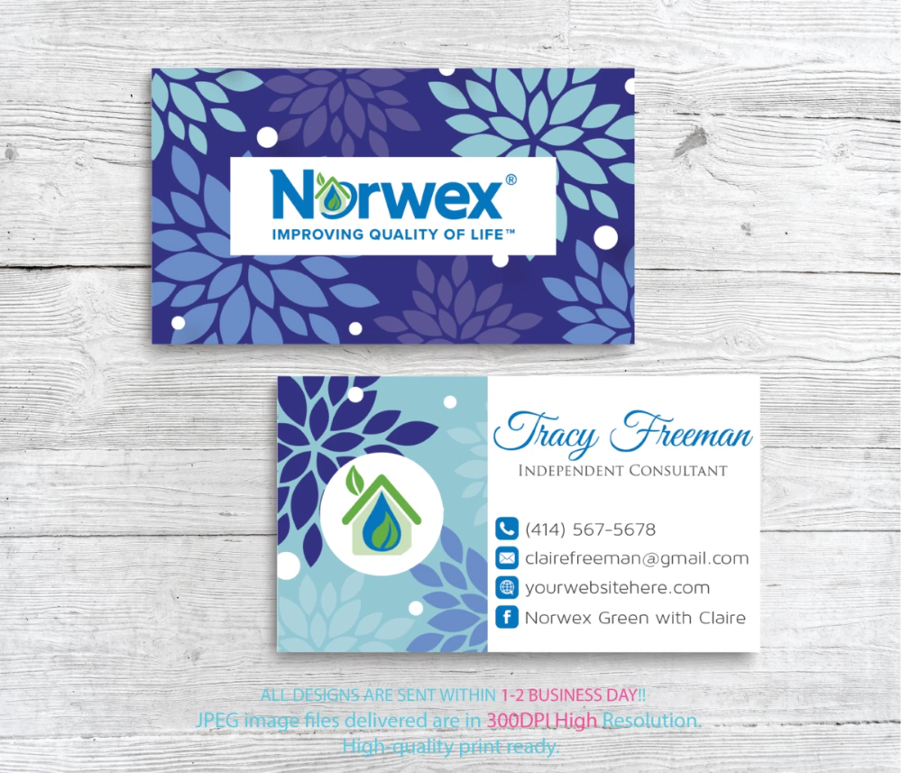 Norwex Business Cards Personalized Norwex Template Nr17 Isagenix Business Cards Cleaning Business Cards Custom Business Cards