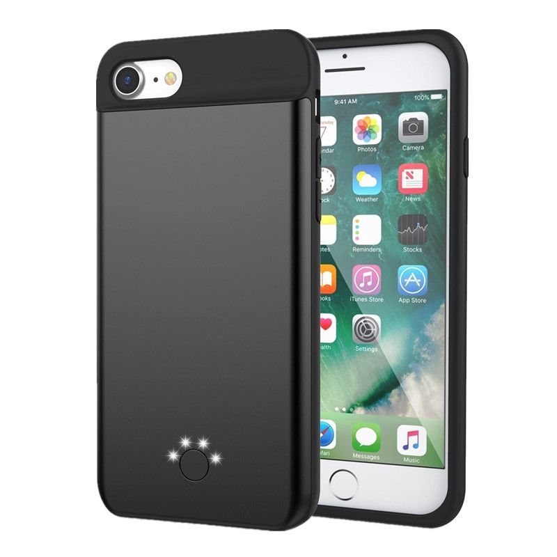 74a5266ac032a9 Battery Charger Case Ultra Thin Case for iPhone 7 7Plus External Battery  Backup Pack charging case