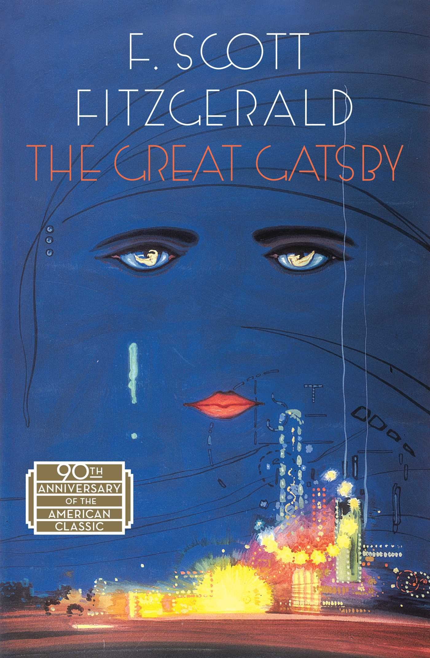 The Great Gatsby By F Scott Fitzgerald Paperback