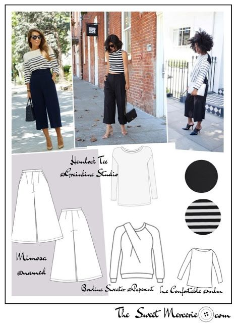 The Sweet Mercerie Couture Pinterest