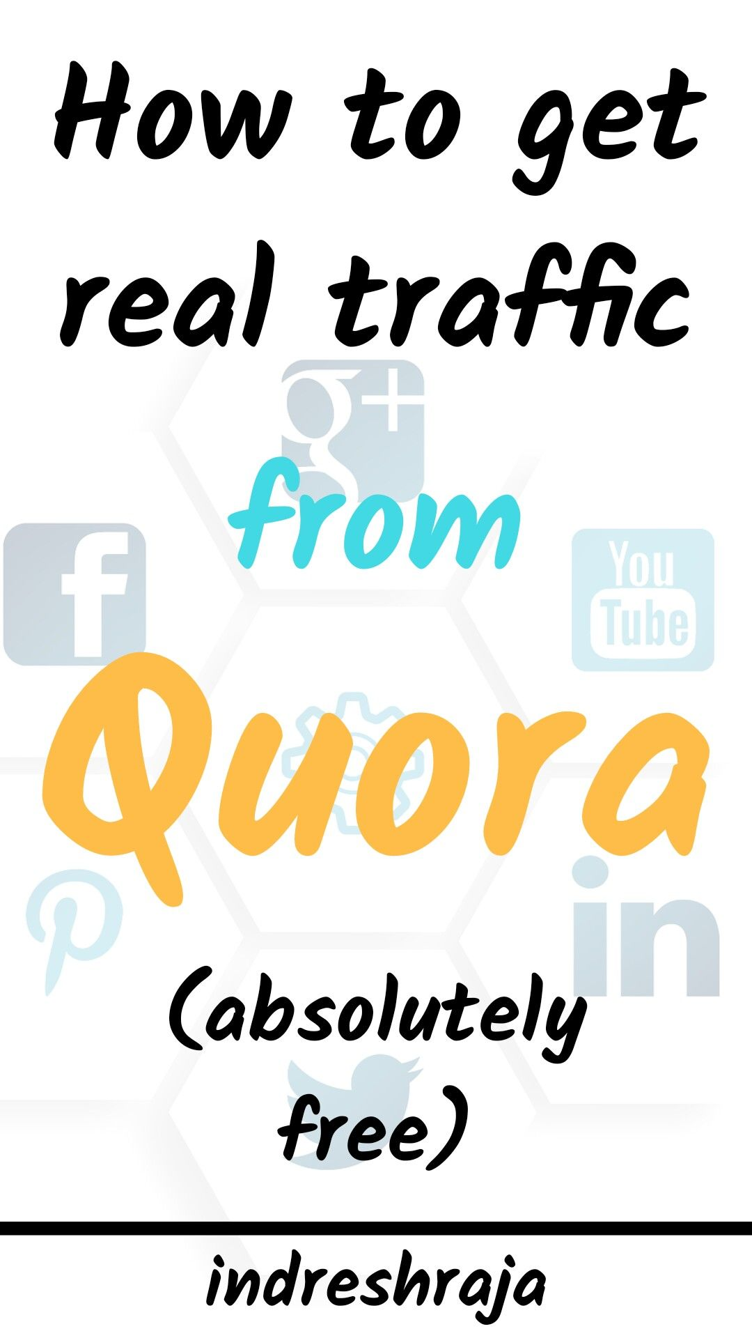 How To Get Free Traffic From Quora Easily For Your Blog Increase