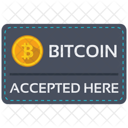 Bitcoin Card Icon Of Flat Style Available In Svg Png Eps Ai Icon Fonts