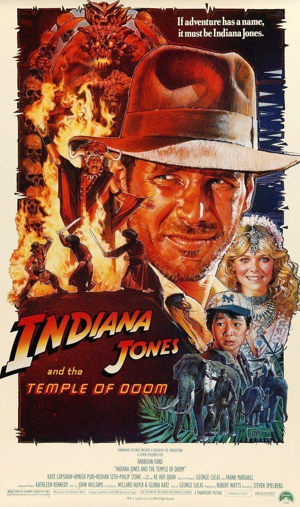 Indiana Jones And The Temple Of Doom 1984 In 2020 Indiana Jones Harrison Ford Indiana Jones Indiana