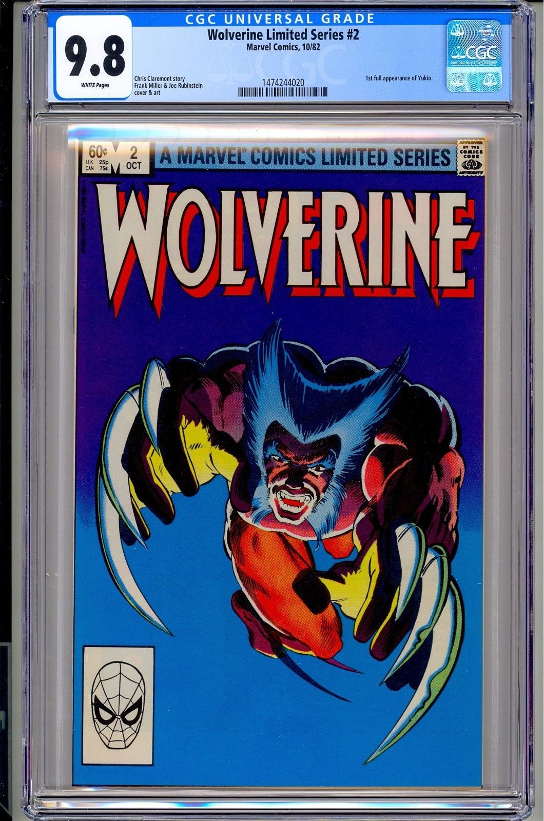 93c74a22685 certified #graded #cgc #cpgx #art #DC #Marvel #comic Wolverine ...