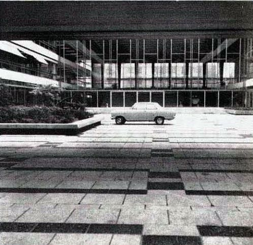Provinciehuis (1953), Arnhem, Netherlands, c. 1973.