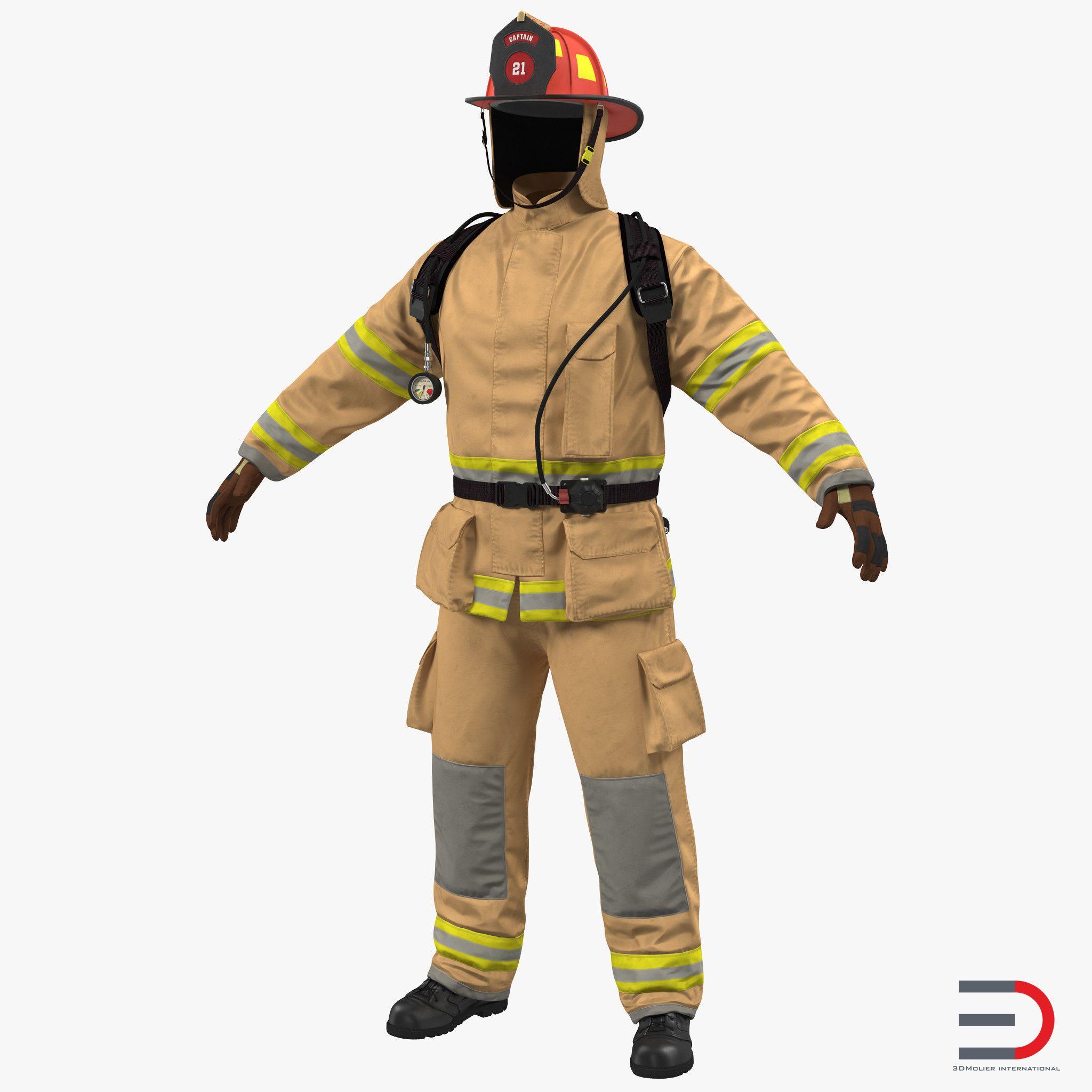 Firefighter Uniform 3d Firefighter Firefighter Drawing Uniform Reading street grade firefighter