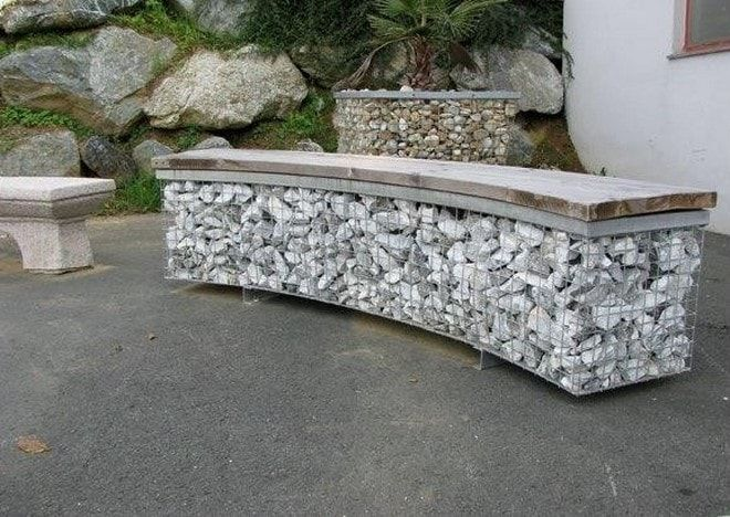 Best This Is How To Build A Gabion Bench Seat And Stools For 400 x 300