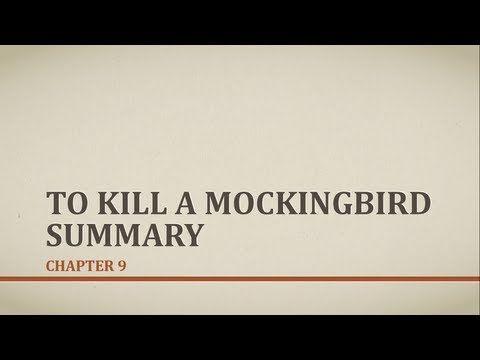 to kill a mockingbird summary of chapters