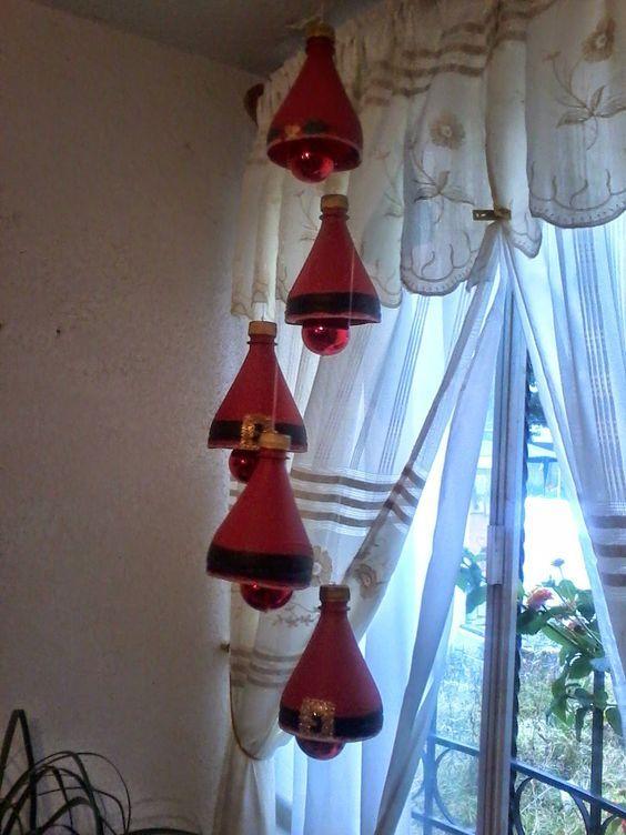 Ecco 20 belle e facili decorazioni natalizie riciclando - Decoraciones navidenas manualidades ...