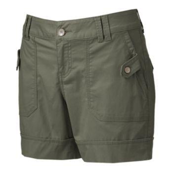SONOMA life + style Cuffed Twill Shorts