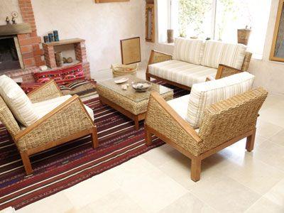 Fabrication De Meubles En Rotin Bambou Feuille De Bananier Jacinthe D Eau Home Decor Furniture House Design